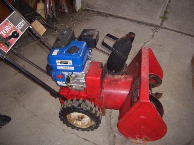 Vintage Toro 7/24 snowblower - gear problem